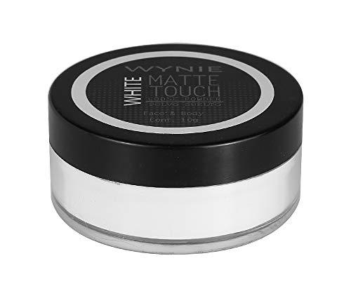 WYNIE Polvos Fijadores Sueltos Translúcidos Matte Touch Sellador de Maquillaje Matificante Acabado Aterciopelado - 10 g