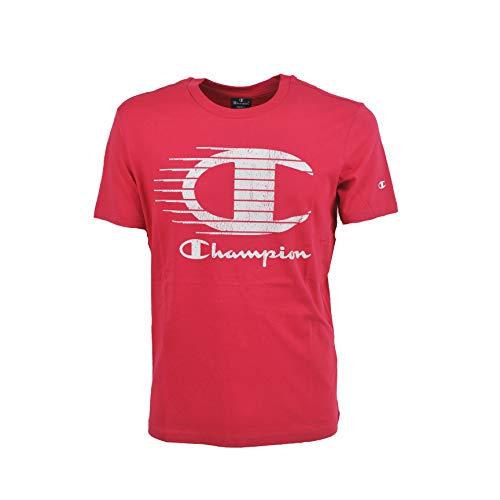 Champion Crewneck t-Shirt (m, ps120 Ciliegia)