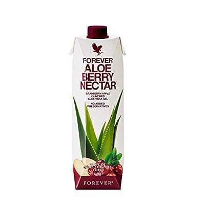 Forever Aloe Berry Nectar Cranberry-Apple Flavored Aloe Vera Gel - 1 Litre