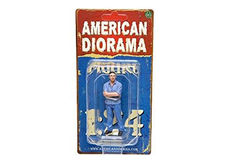 figurine figurine Rennfahrer II, 0, voiture miniature, Miniature déjà montée, Americains Diorama 1:24