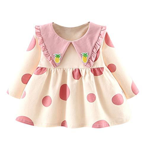 Unbekannt Allence Mädchen Kleid Baby Kleidung Mädchen Kleid Winter warm Langarm Prinzessin Party Festzug Kleider