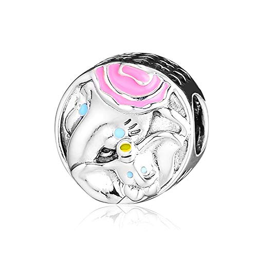 Pandocci 2019 - Abalorio de plata de ley 925 para pulseras Pandora