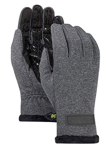 Burton Women's Sapphire Glove, True Black Heather, Medium