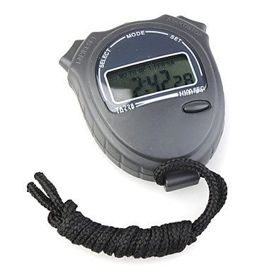 Wohai Gadget Mall - Ta228 cronometro cronografo digitale sportivo (nero)