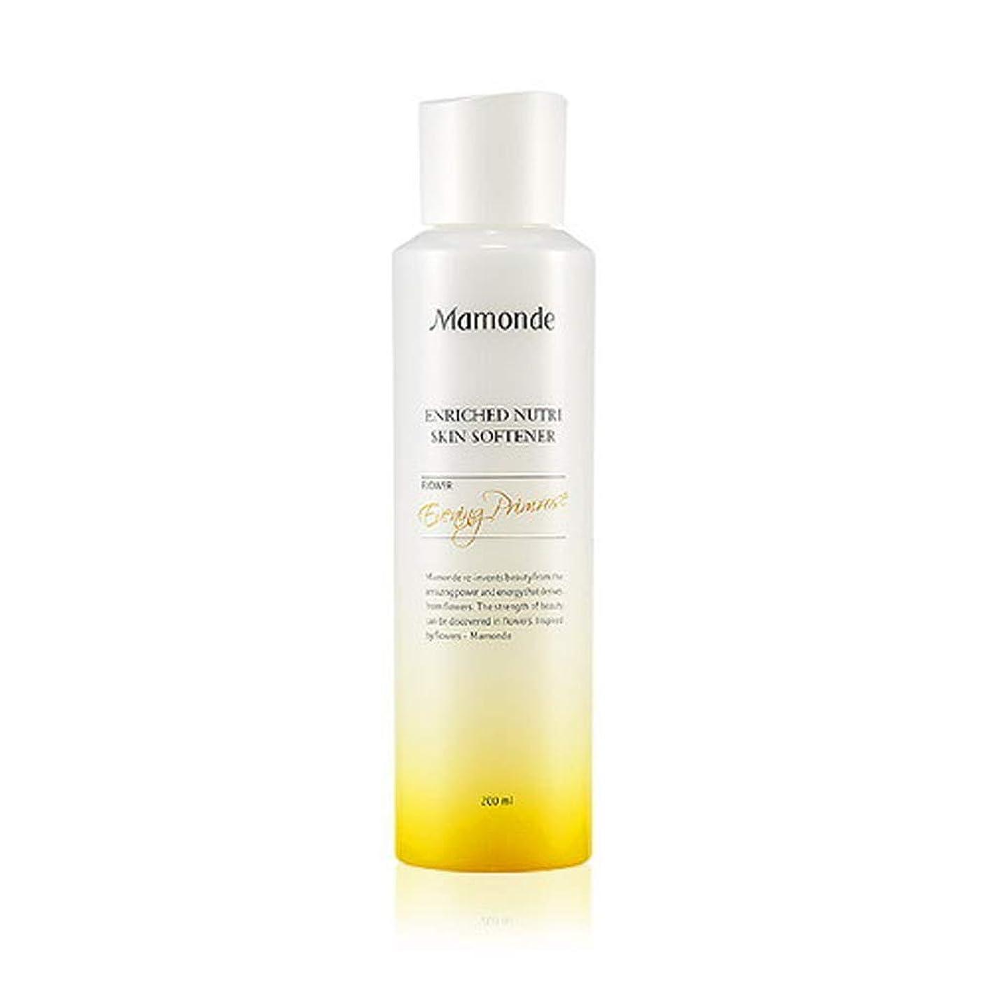 傷つきやすい防水雷雨Mamonde Enriched Nutri Skin Softener 200ml/マモンド エンリッチド ニュートリ スキン ソフナー 200ml
