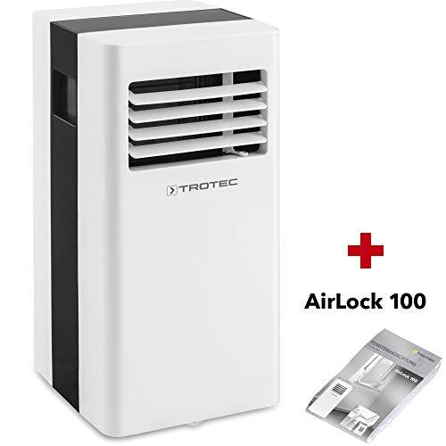 TROTEC Lokales Klimagerät PAC 2100 X mobile 2 kW Klimaanlage 3-in-1-Klimagerät + Airlock 100