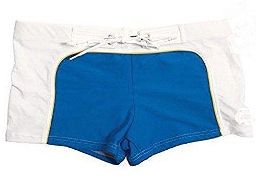 Fitness sports store Aussiebum Badehose, Badehose, Badehose, Strandshorts, Herren Boxershorts Gr. S 7-9, Blau Weiß Gelb