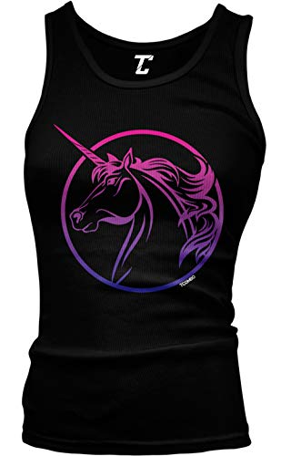 Bisexual Unicorn - Flag LGBTQ Pride Juniors Tank Top 3