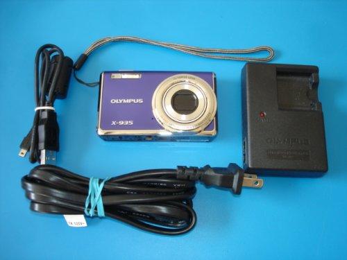 Olympus X-935 FE-5020 Digital Camera 4X Zoom and 2.7in LCD Blue/Purple