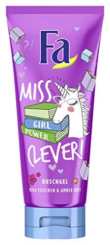 Fa Duschgel Girl Power Collection Miss Clever Mit Rosa Veilchen & Amber Duft, 200 Ml