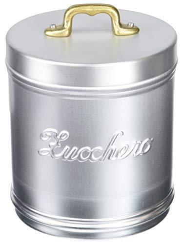 ITALO OTTINETTI Dull Vorratsdose Messing Handgriff 16cm Zucchero, Aluminium, metallic, One Size