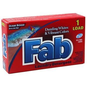 Fab Powder Detergent - Coin Vend