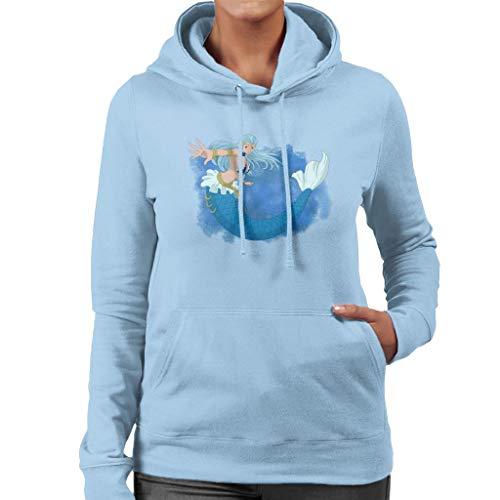 Cloud City 7 Fairy Tail Aquarius Women's Hooded Sweatshirt