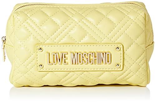 Love Moschino SS21, Bolsos de Mano Mujer Colección Primavera Verano 2021, Amarillo, Normal
