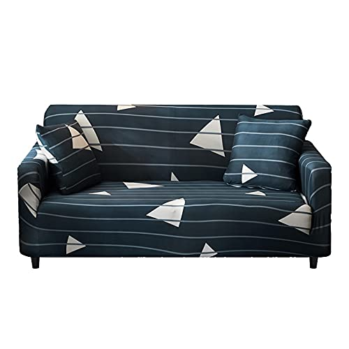 WXQY Elastischer Möbelbezug Elastischer Sofabezug, Wohnzimmersofa Sitzbezug, Möbelschutzbezug Couchbezug A16 2 Sitzer