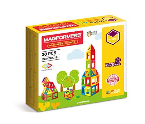 Unbekannt Magformers 005-36750 Konstruktionsspielzeug 30 First LINE, Mehrfarbig