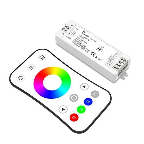 RGB LED Strip Controller Kit RGB RF Controller LED Remote Control RF controller for the RGB LED Strips 12-24VDC