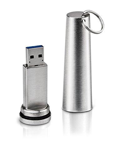 LaCie XtremKey 64GB Flash Speicherstick - USB 3.0, Verschlüsselt, Wasserdicht bis 200m - LAC9000349