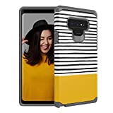 Case for Samsung Galaxy Note 9 Case,SleeBas Dual Layer Defender Heavy Duty Shockproof Protective Case for Galaxy Note 9