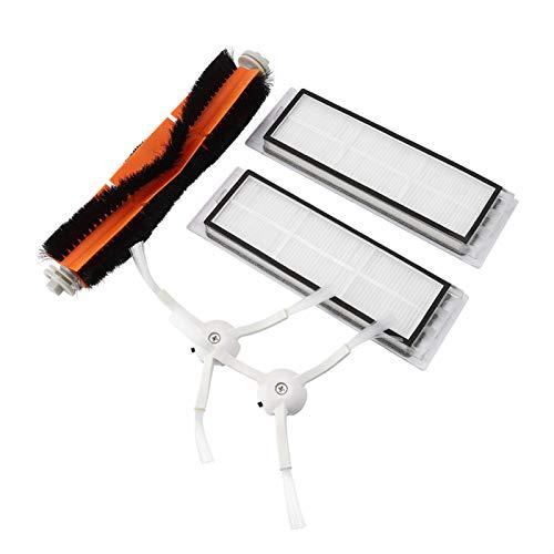 Conjunto de filtros de cocina de cepillo lateral/principal/rodillo eficiente para el hogar