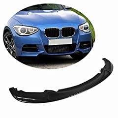 Good Fitment: This front bumper lip spoiler is well fits for BMW 1 Series F20 F21 116i 118i 120i M135i M Sport Hatchback Pre-LCI 2011 2012 2013 2014 2015, not for LCI & M140i models Professional Installation: Need to drill. Glue tape and tapping scre...