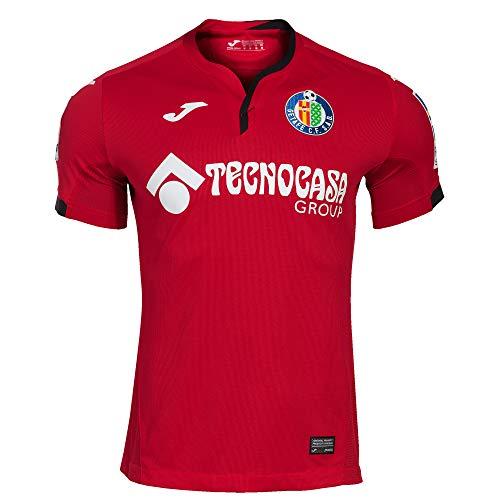 Joma Getafe CF Segunda Equipación 2020-2021, Camiseta, Rojo, Talla 2XL