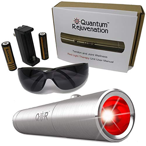 Quantum Rejuvenation Introductory Sale - Red Light Therapy Device - FDA Registered Advanced Pain Relief - Joint & Muscle Reliever - Medical Grade
