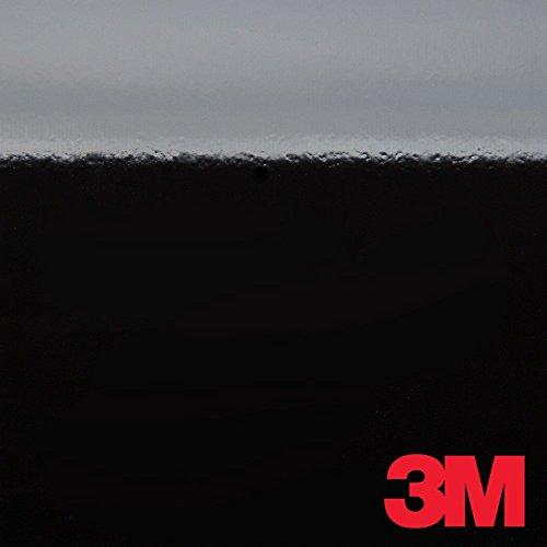 3M 2080 G12 GLOSS BLACK 5ft x 1ft (5 Sq/ft) Car Wrap Vinyl Film