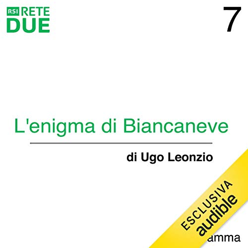 L'enigma di Biancaneve 7 audiobook cover art