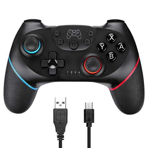 DYS@ 360 Controlador de Gamepad, Joystick de Juegos Joypad 360, Mando de diseño ergonómico Mejorado para 360 Slim y PC con Windows XP/Vista / 7/8 / 8.1/10