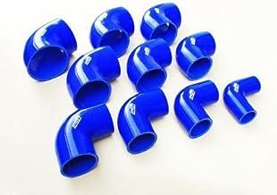 Cool Nuts 異径シリコンエルボーホース 90度 内径 60mm - 76mm ブルー TRE90-60-76-BU