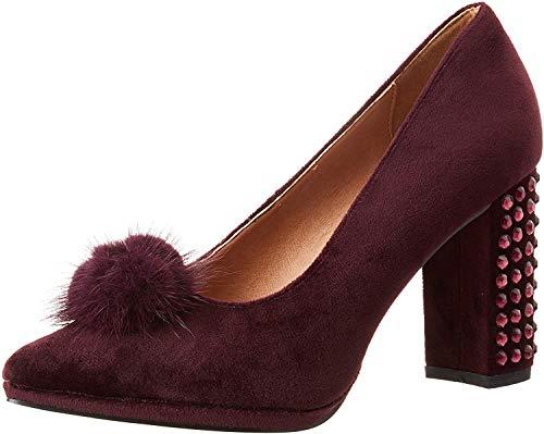 Eferri Rabbit, Zapato de tacón Mujer, Burdeos, 37 EU