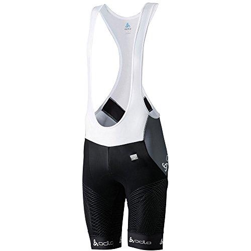 Odlo Bretelles Pantalon et Salopette Short Collant de Cyclisme Suspenders MF Impact XXL Noir