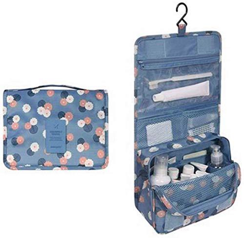 Djryj dames ritssluiting ophangbare waterdichte toilettas wasgoed make-up opslag cosmetica sorteertas ophangbare tas Hot (niet afbeelding kleur)