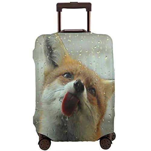 Delerain 3d Corgi Funda de equipaje de viaje lavable Spandex maleta protectora se adapta a 18-32 pulgadas de alto elástico polvo fundas de equipaje con cremallera