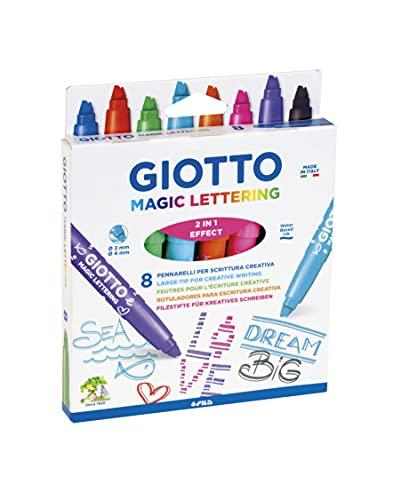 Giotto Magic Lettering- Pennarelli Speciali