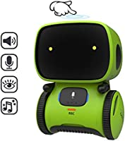 REMOKING STEM Educational Robot for Kids,Dance,Sing,Speak,Walk in Circle,Touch Sense,Voice Control, Learning Partners...