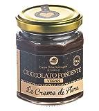 Le Creme di Piera Crema dulce para untar con sabor vegano a chocolate negro - 1 x 220 Gramos