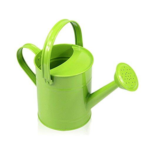 Arrosoir de jardinage, fer à repasser jardin poêle de jardin pot d'arrosage portable jardinage fournitures outils bleu 1.5L ( Couleur : Vert )