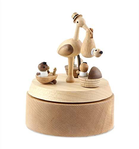 Wooderful life Carillon Multi-Rotazione La Cicogna