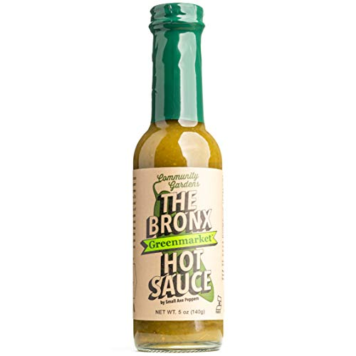 The Bronx Greenmarket Hot Sauce Green 5 Oz