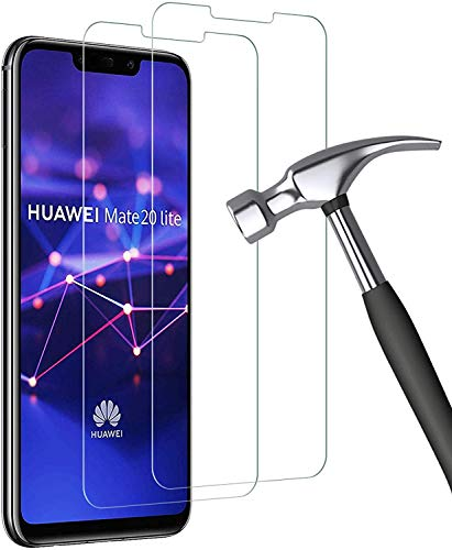Bodyguard Panzerglas Schutzfolie für Huawei Mate 20 Lite, Frei von Kratzern Fingabdrücken und Öl, 9H Härte Displayschutzfolie, Ultra Dünn HD Schutzfolie für Huawei Mate 20 Lite