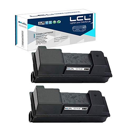 LCL Cartucce di Toner Compatibile TK350 TK-350 TK-350K 1T02LX0NLC FS-3920DN 15000Pagine (2 Nero) Sostituzione per Kyocera ECOSYS FS-3920DN FS-3040MFP FS-3140MFP FS-3540MFP FS-3640MFP