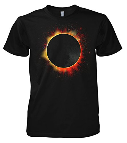 Geek Solar Eclipse - Moon 701897 Herren T-Shirt 001 L