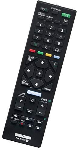 ALLIMITY RM-ED062 Fernbedienung Ersetzt für Sony Bravia LED LCD Smart TV KD-43XE7077 KD-49XE7077 KDL-32R424A KDL-32R430B KDL-32RE405 KDL-40R353C KDL-40R483B KDL-40R485B