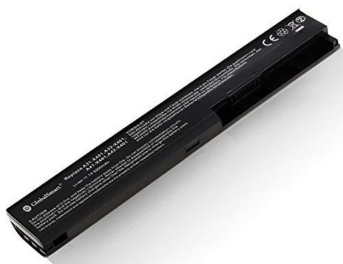 Globalsmart Batería para portátil Alta Capacidad para ASUS X501A 6 Celdas Negro
