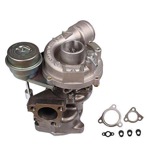 K03 Turbo 1.8T Compatible with Volkwagen VW PASSAT & AUDI A4 Quattro B5 B6 1996-2006 Up to 300+ BHP 3 Bolt 1.8 53039880029 Turbocharger & Gaskets