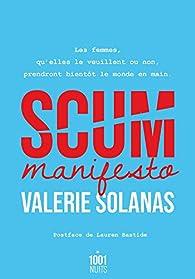 Scum manifesto par Valerie Solanas