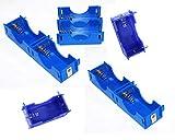 Sci-Supply PKG(8) D-Cell Modular Battery Holders