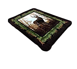 All American Collection Super Soft Animal Printed Throw Blanket Anna